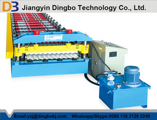 10-15M / Min Forming Speed Corrugated Roofing Sheet Roll Forming Machine
