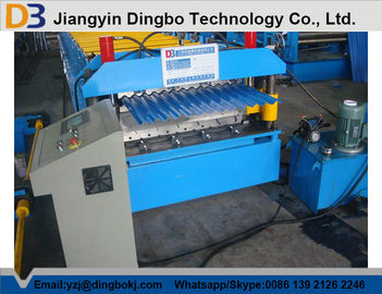 Corrugated Roof Panel Corrugated Roll Forming Machine with 1200mm Feeding width