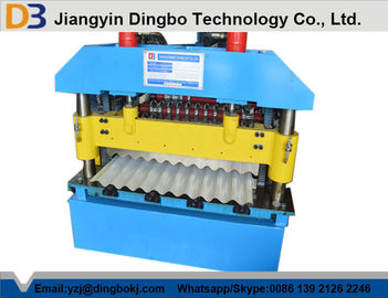 3kw Corrugated Roll Forming Machine with Cr12 Cutting Blade For Wall Board Production