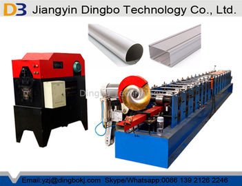 Automatic Floor Deck Roll Forming Machine Touch Screen Easy Operation